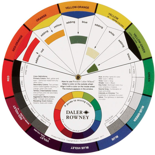 Color Wheel Mixing Guide - Bloody Wolf Tattoo Supply