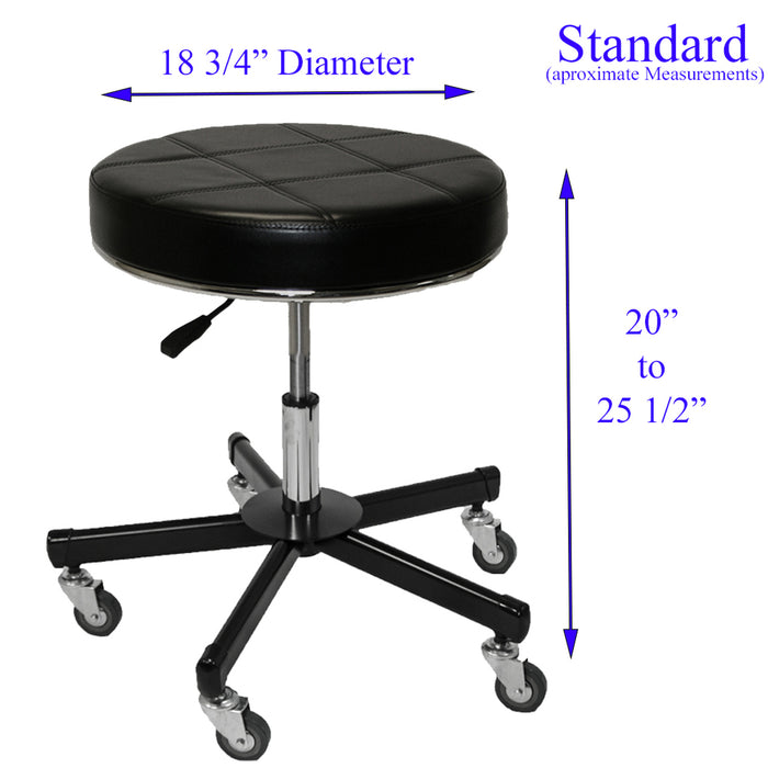 InkBed Heavy Duty Extra Large Deluxe Air-Lift Tattoo Stool - Bloody Wolf Tattoo Supply