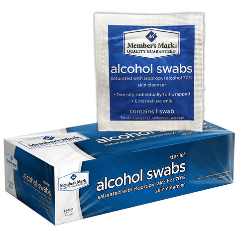Alcohol Prep Pads Member's Mark