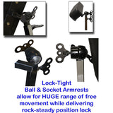 Arm Rest Expansion Kit for Hydraulic Client Chair - InkBed