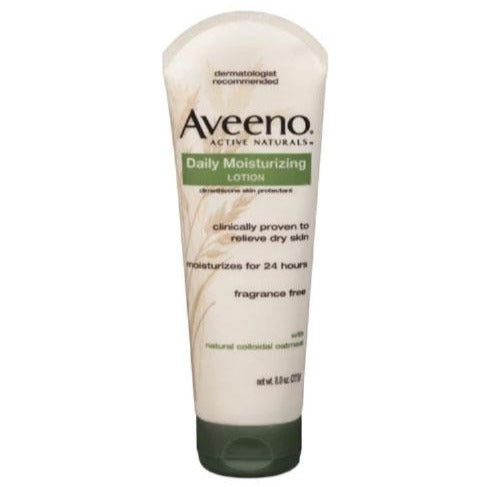 Aveeno 8oz Lotion Tube - Bloody Wolf Tattoo Supply
