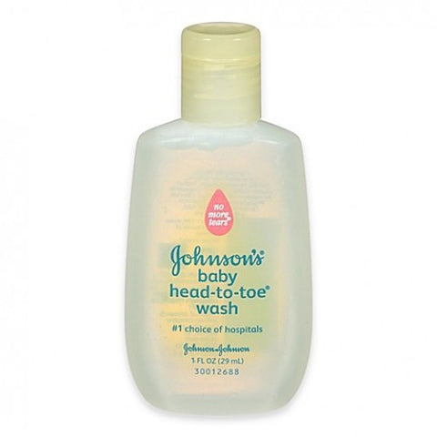 Soap - Johnson's Baby Wash 1oz