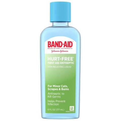 Bandaid Hurt Free Wash 6oz