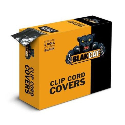 Blak Cat Clip Cord Covers - Bloody Wolf Tattoo Supply