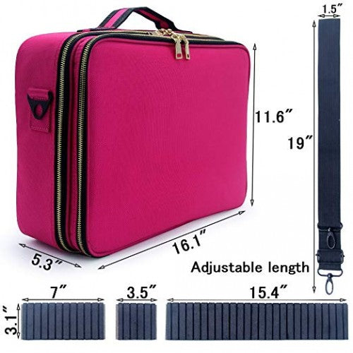 Travel Bag - Large Pink - Bloody Wolf Tattoo Supply