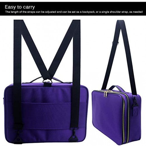 Travel Bag - Large Purple - Bloody Wolf Tattoo Supply