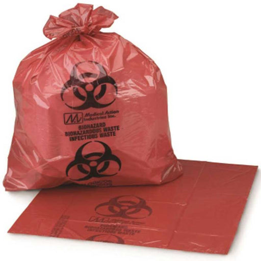 Medi-Pak Biohazard Waste Bags - Bloody Wolf Tattoo Supply