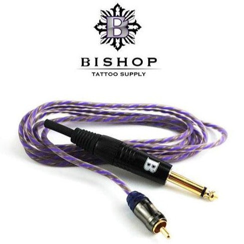 Clip Cord RCA Bishop 7ft - Bloody Wolf Tattoo Supply