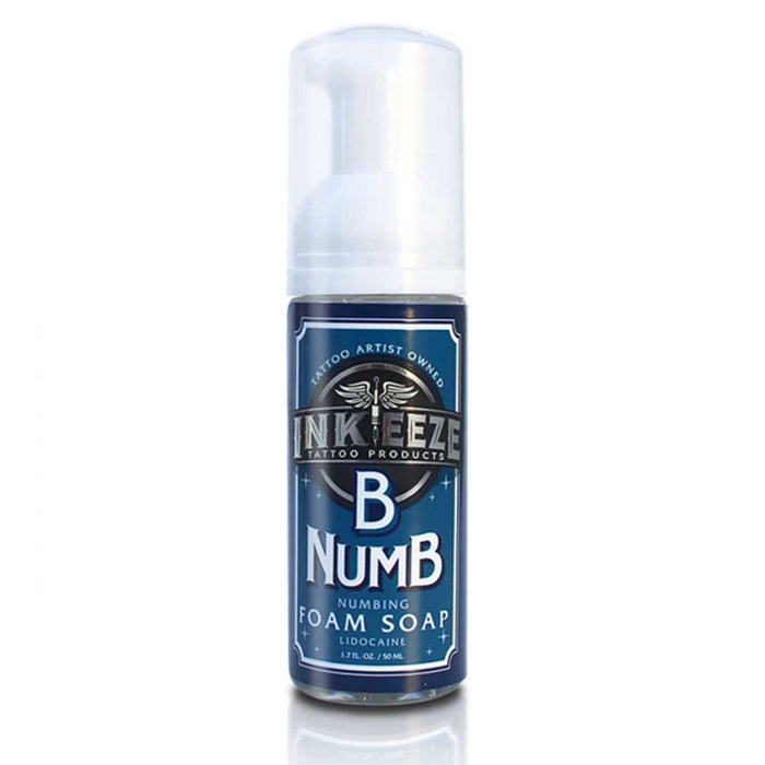 B Numb Foam 1.7oz by Ink-Eeze - Bloody Wolf Tattoo Supply