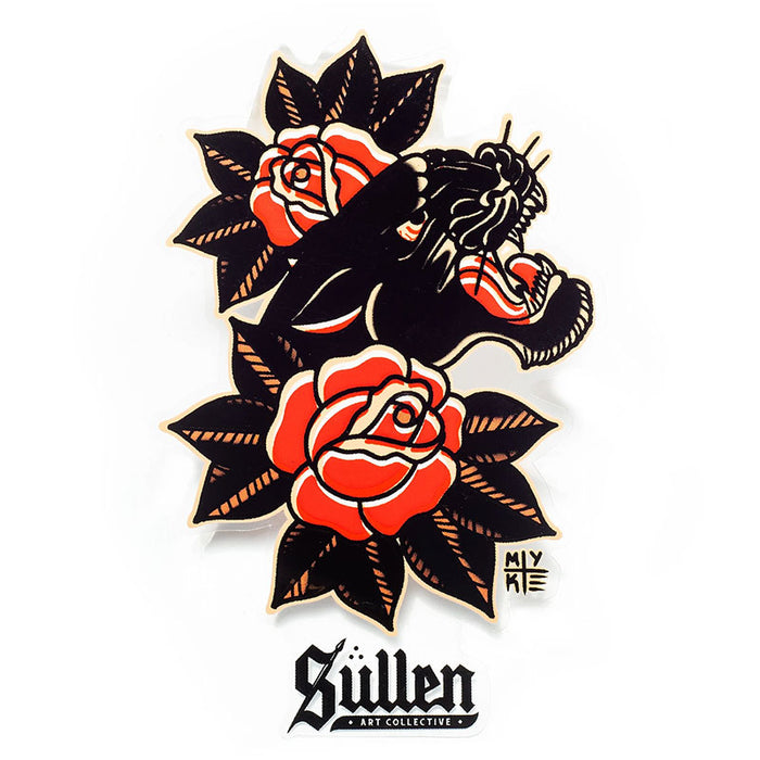 Sticker - Sullen Chambers - Bloody Wolf Tattoo Supply