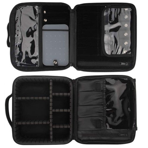 Travel Bag - Deluxe Black - Bloody Wolf Tattoo Supply