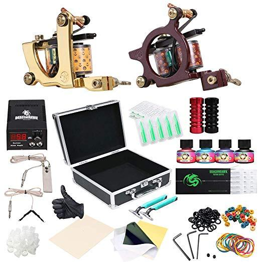 Apprentice Tattoo Kit - Dragonhawk Coils - Bloody Wolf Tattoo Supply