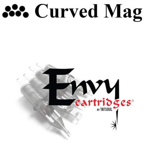 Envy Curved Mag Cartridges-Premium Tattoo Needles - Bloody Wolf Tattoo Supply