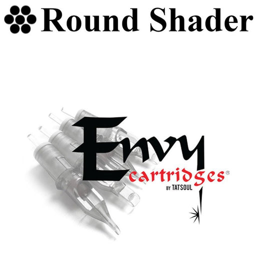 Envy Round Shader Cartridges - Bloody Wolf Tattoo Supply