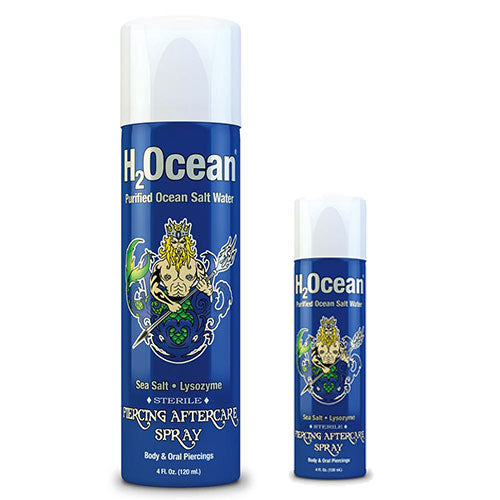 Piercing Aftercare Spray by H2Ocean - Bloody Wolf Tattoo Supply