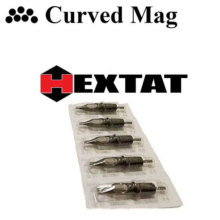 Hexis Curved Mag Cartridges - Bloody Wolf Tattoo Supply