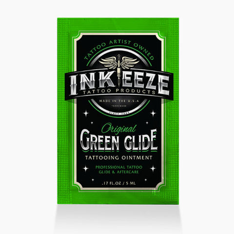 Green Glide by Ink-Eeze