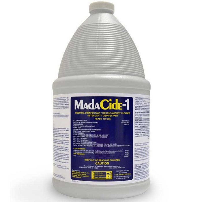 MadaCide-1 Gallon Disinfectant - Bloody Wolf Tattoo Supply