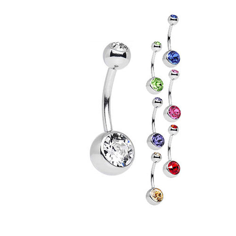 Navel Jeweled Barbell