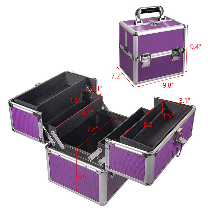 Purple Travel Carrying Case