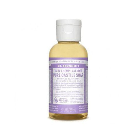 Dr. Bronner's Lavender 2oz Castile Soap - Bloody Wolf Tattoo Supply