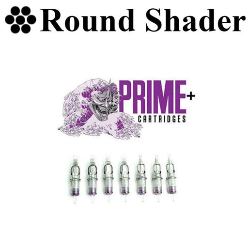 Prime+ Round Shader Cartridges - Bloody Wolf Tattoo Supply