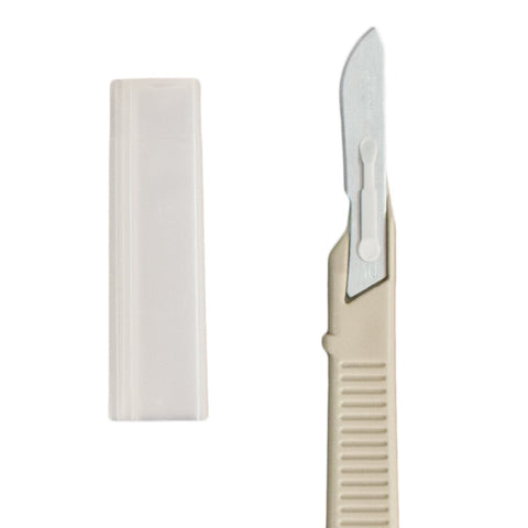 Disposable Scalpel with Guard