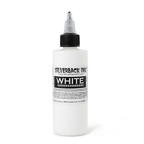 White 4oz by Silverback - Bloody Wolf Tattoo Supply