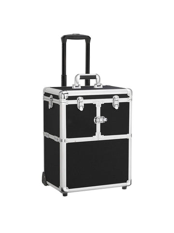 Rolling Travel Case - Black Compact