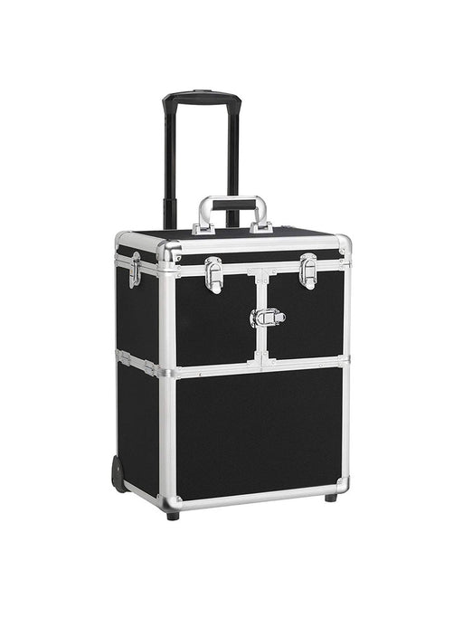Rolling Travel Case - Black Compact - Bloody Wolf Tattoo Supply
