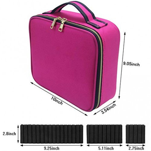 Travel Bag - Small Pink - Bloody Wolf Tattoo Supply