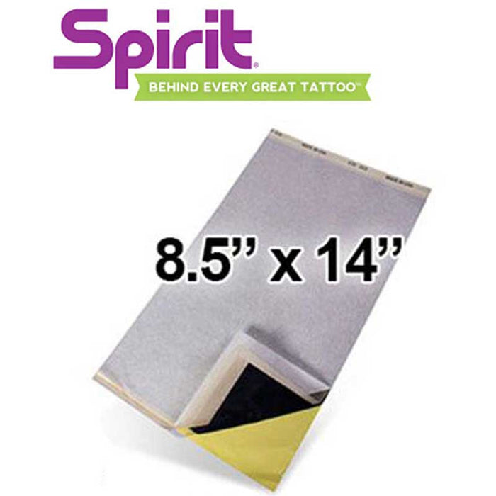 "Spirit 8.5"" x 14"" Thermal Transfer Paper - Bloody Wolf Tattoo Supply"