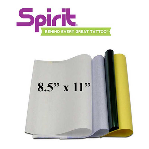 "Spirit 8.5"" x 11"" Thermal Transfer Paper - Bloody Wolf Tattoo Supply"