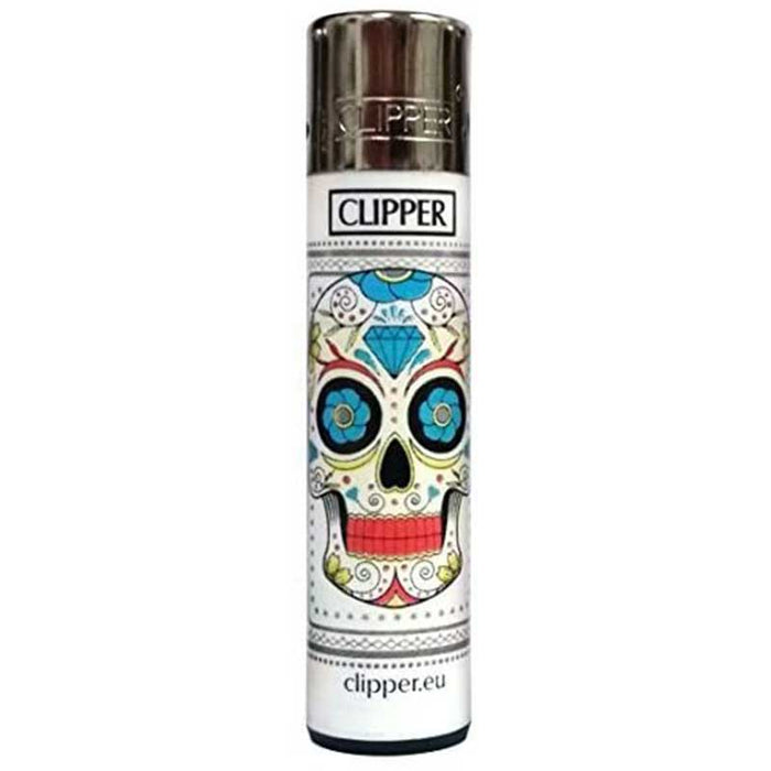 Clipper Sugar Skulls Lighter