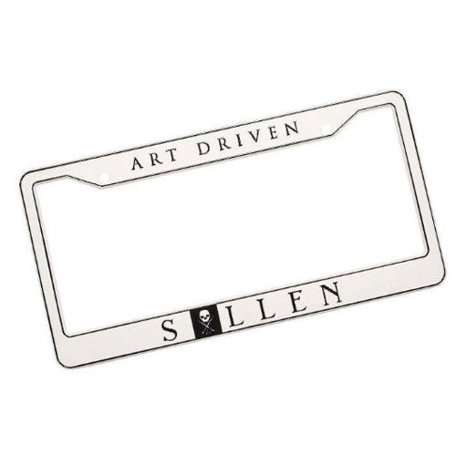 Sullen License Plate Frame - Bloody Wolf Tattoo Supply