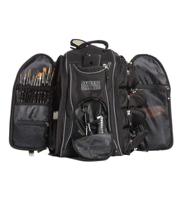 Sullen Drone Black Backpack - Bloody Wolf Tattoo Supply