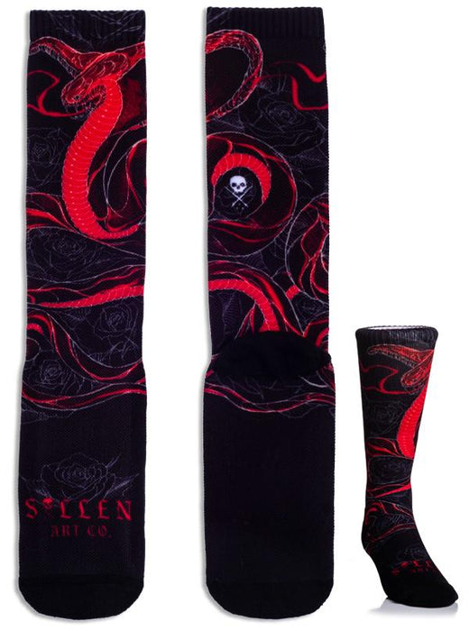 Sullen Socks - Artist Series - Bloody Wolf Tattoo Supply