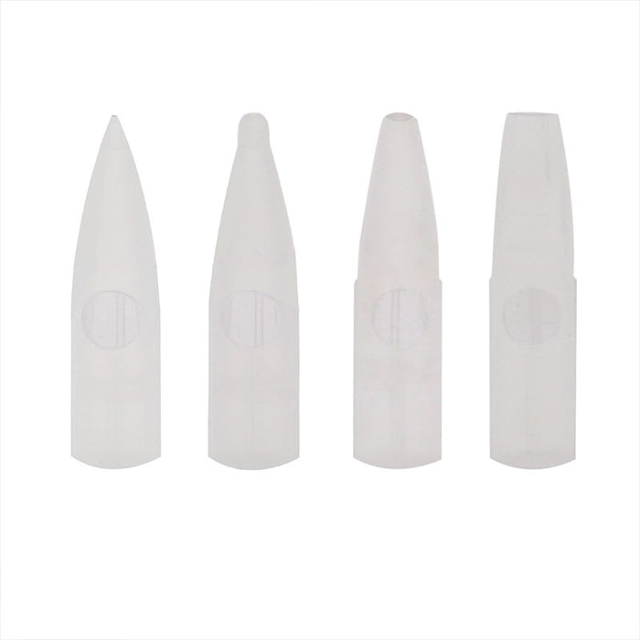 Needle Tips 50ct for Permanent Makeup - Bloody Wolf Tattoo Supply