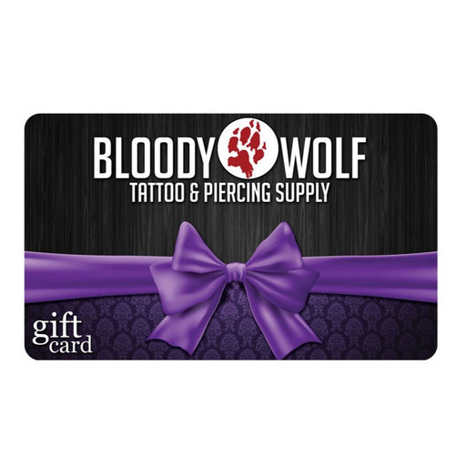 Bloody Wolf Tattoo Supply Gift Card - Bloody Wolf Tattoo Supply