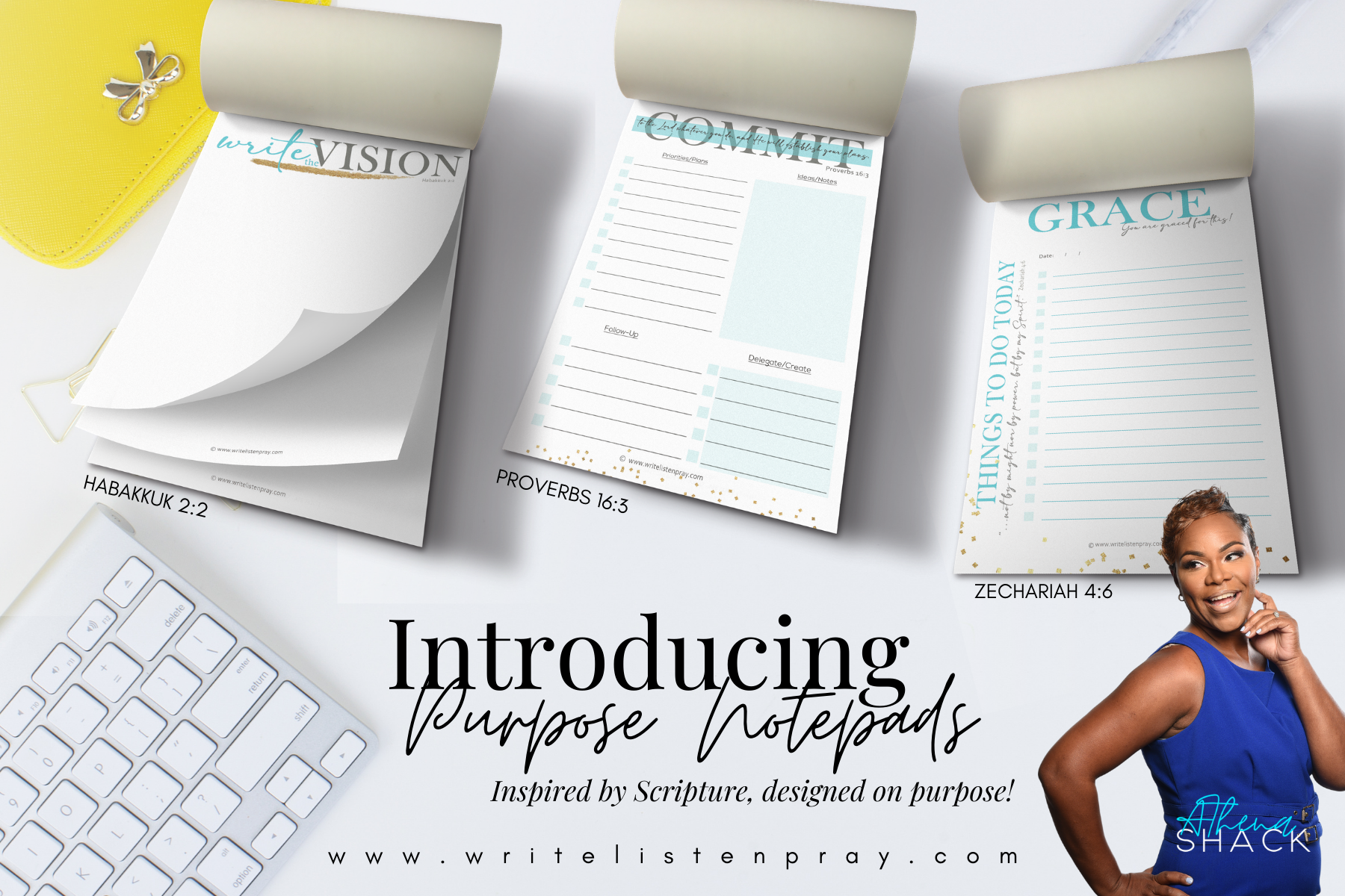 The Purpose Notepad Collection