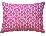 Timbuktu Diamond Embroidered Cushion