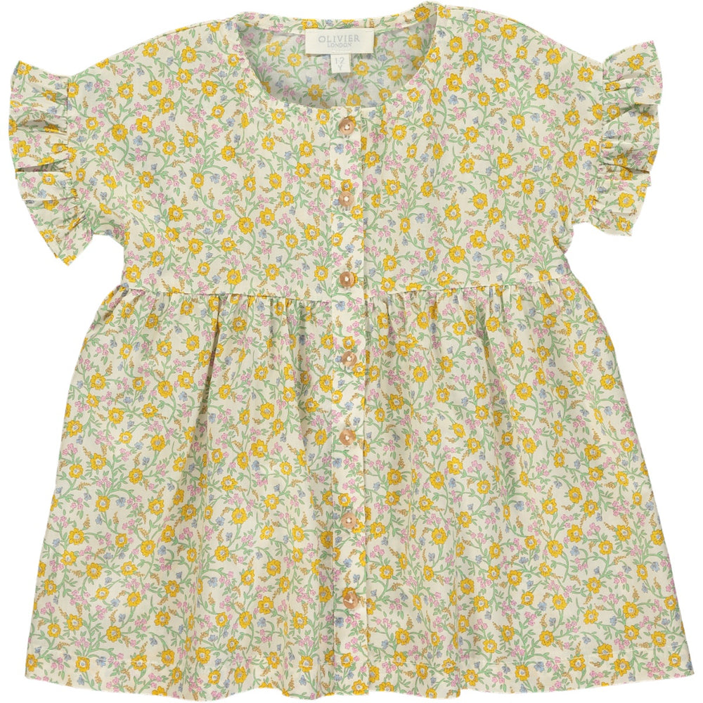 Eva Dress - Hannah Fay Yellow