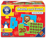 Match and Count Activity Puzzle