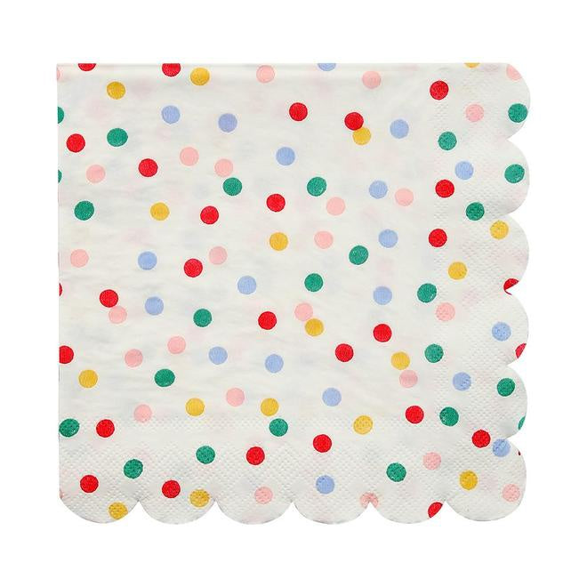 Toot Sweet Spotty Large Napkin