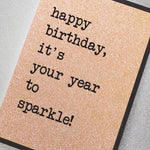 It's Your Year to Sparkle