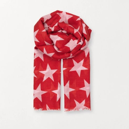 Supersize Nova Scarf - Red