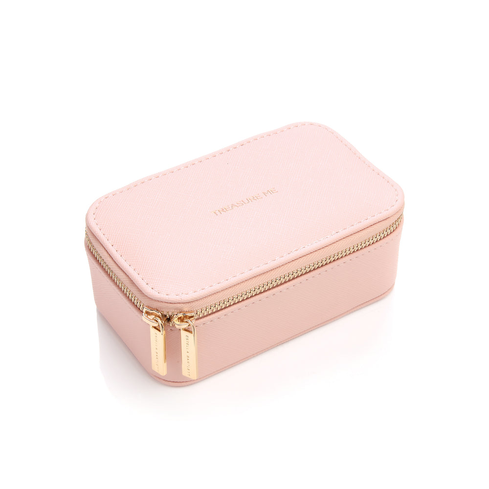 Mini Jewellery Box- Treasure Me- Blush