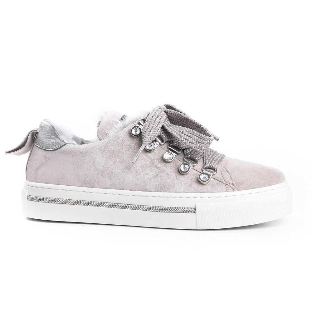 Alpe Grey Suede Trainer