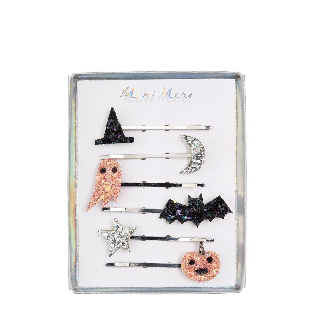 Meri Meri Halloween Icons Glitter Hair Slides