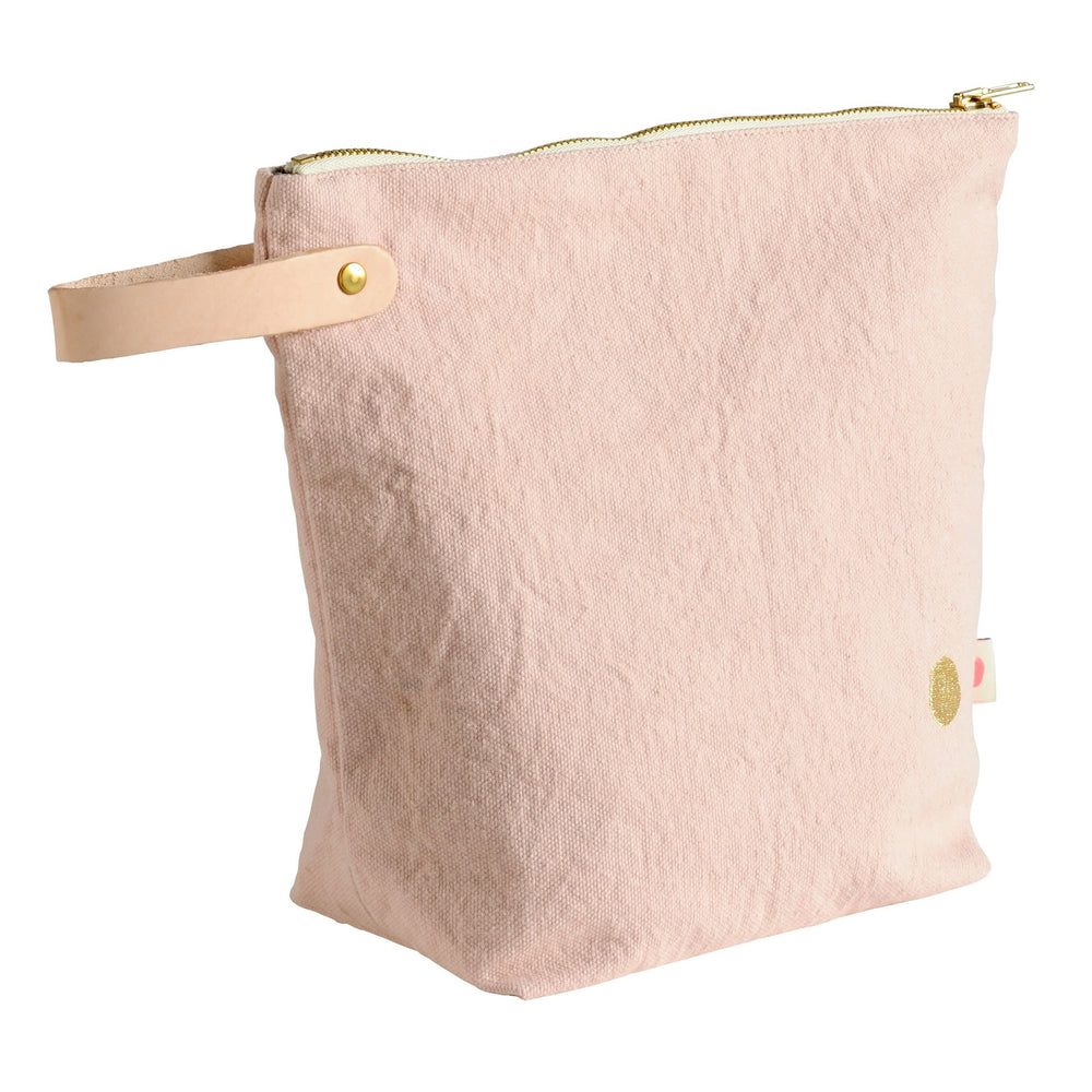 Toiletry Bag- Iona Biscuit